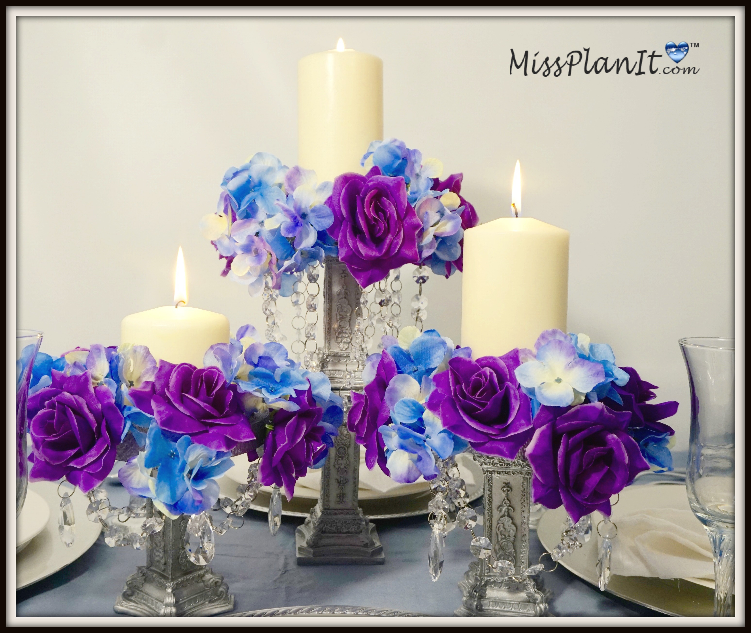 DIY Chandelier Centerpiece