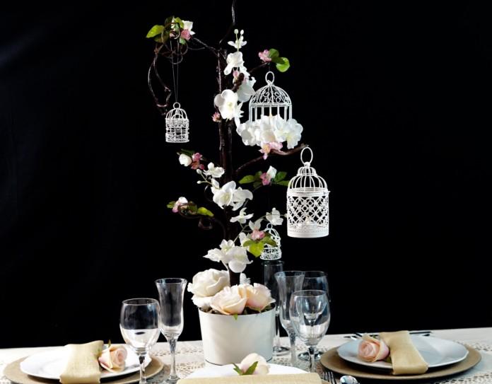 Stunning diy birdcage centerpieces for a wedding or