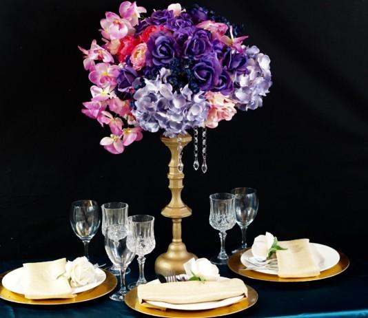 Candleholder Wedding Centerpiece