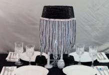 DIY Lamp Centerpiece
