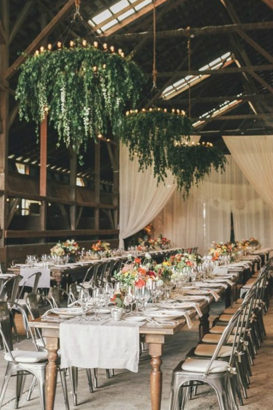 26 must see wedding chandeliers you could totally diy with a hula hoop photographer edyta photography featured planner a savvy event source mod wedding aloadofball Images