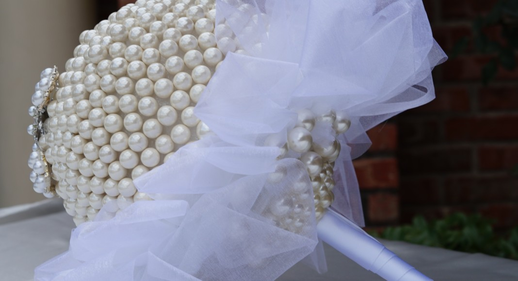 Pearl Bridal Bouquet