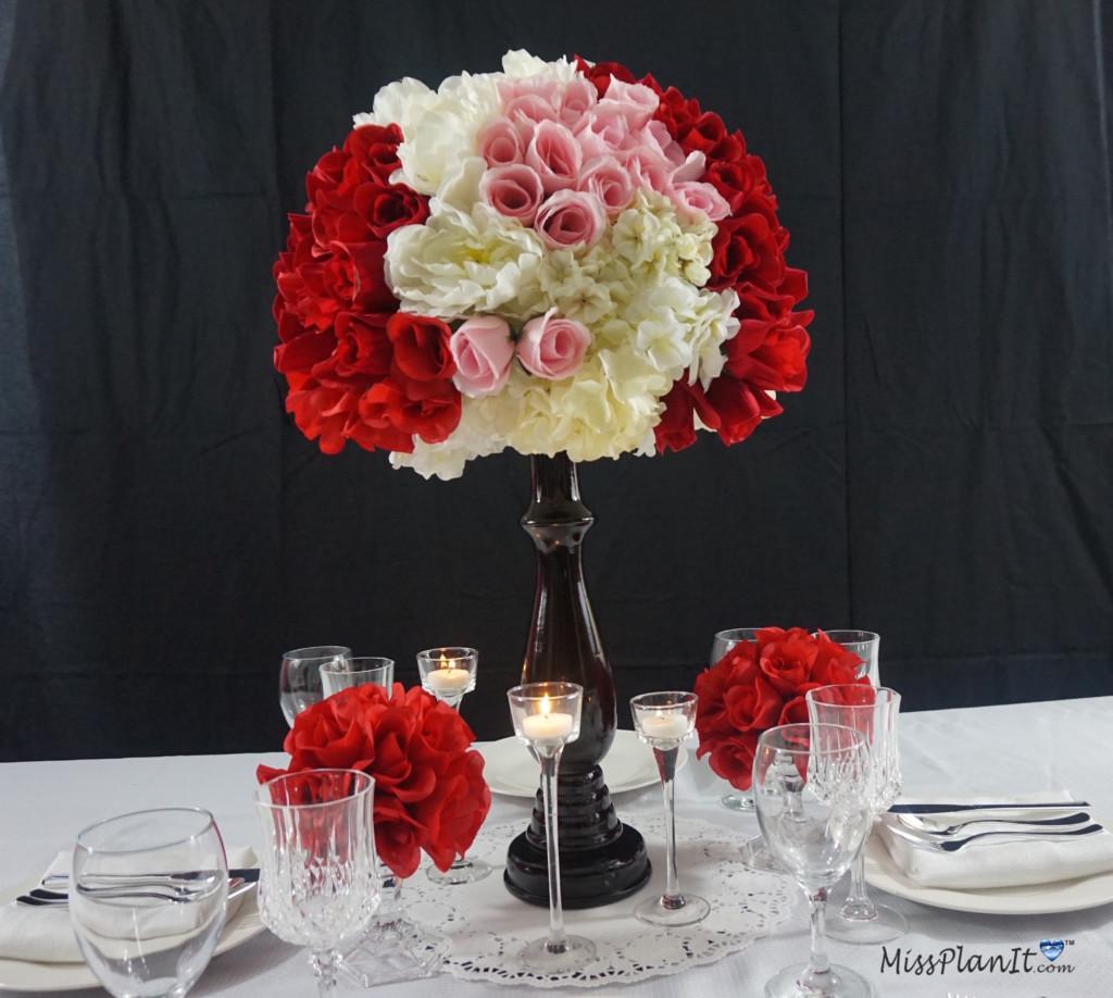 Wedding Centerpieces Diy: Dollar Tree Inspired DIY Ball Valentine's Day Wedding