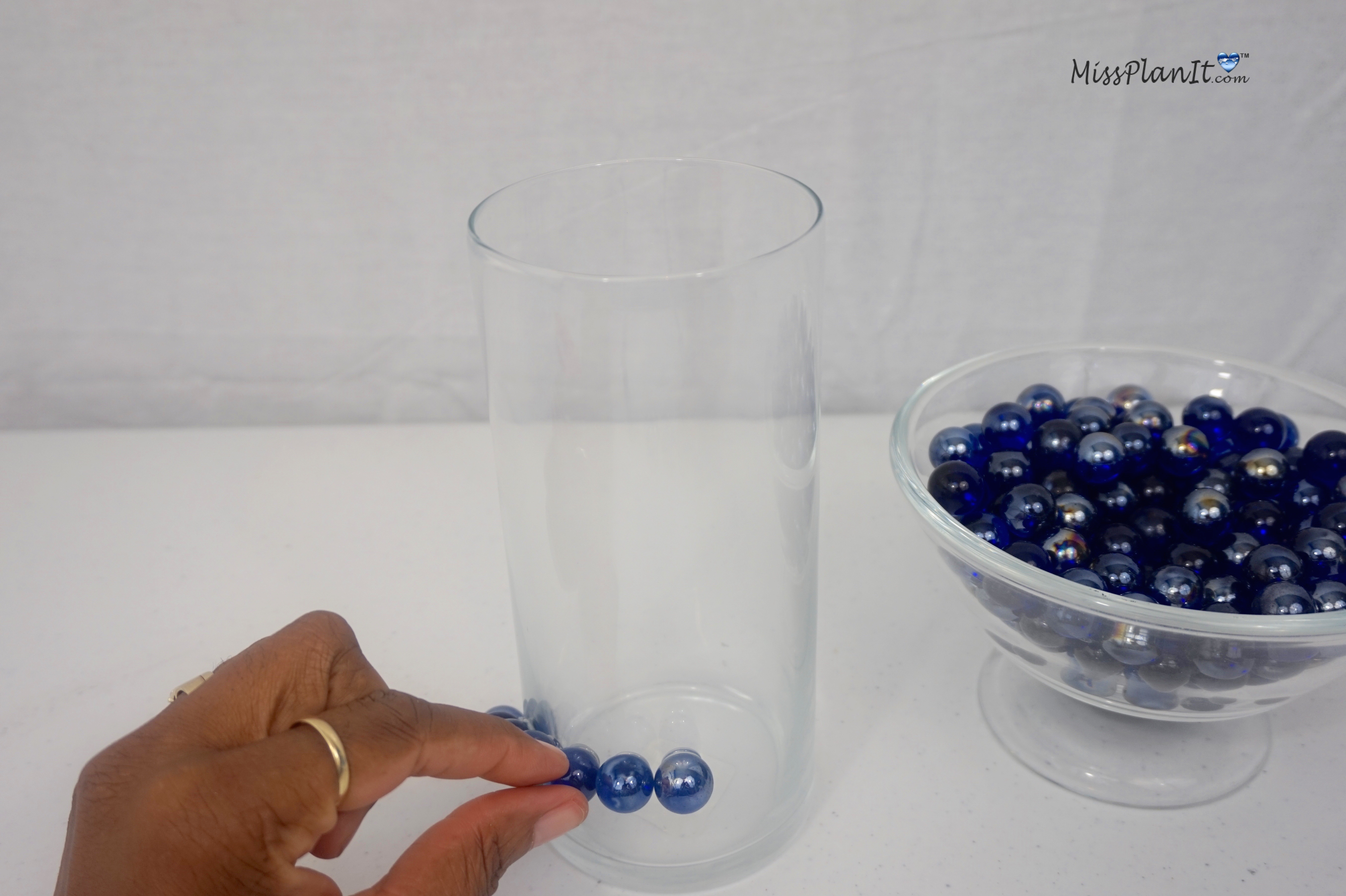 Using All Your Marbles: A $5 Centerpiece in 5 Easy Steps