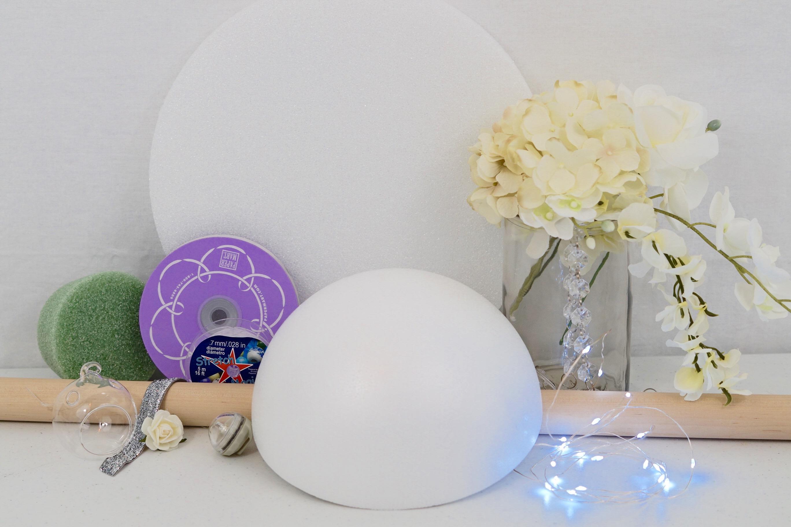DIY Star Bright Wedding Centerpiece