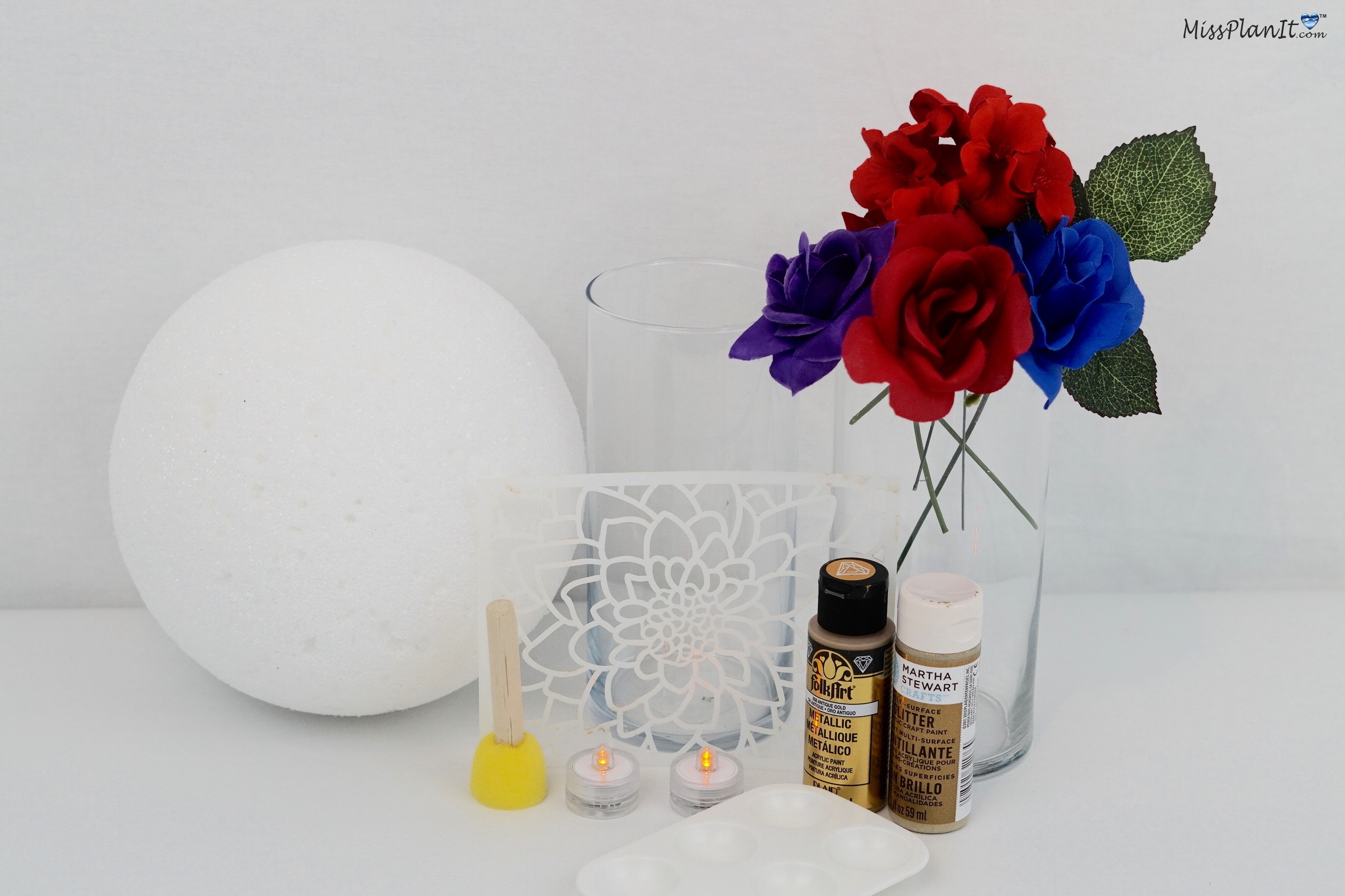 Funky 4th Of July Wedding Centerpieces Frieze - The Wedding Ideas ...