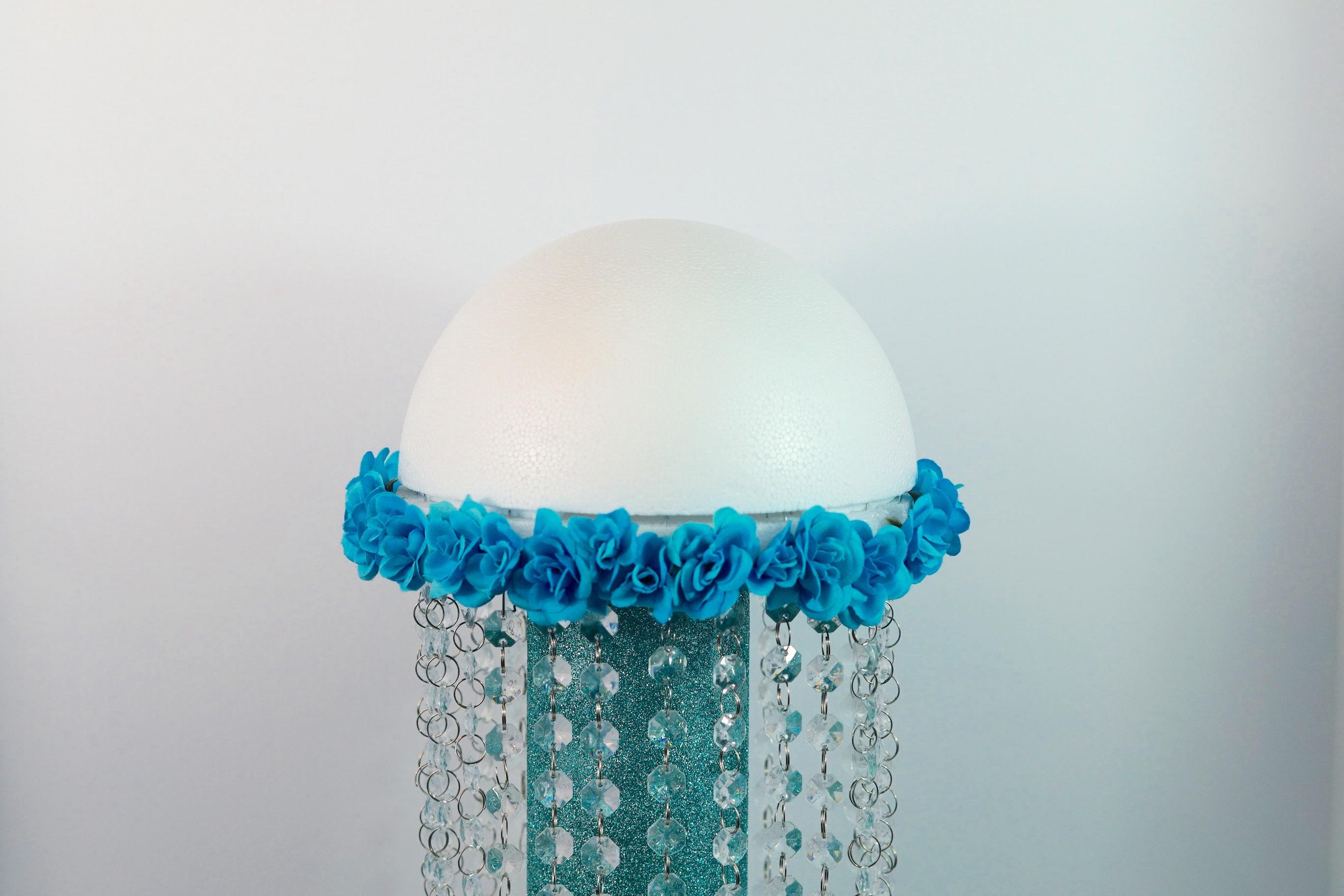 Blue DIY Wedding Centerpieces for Your Under the Sea Beach Wedding