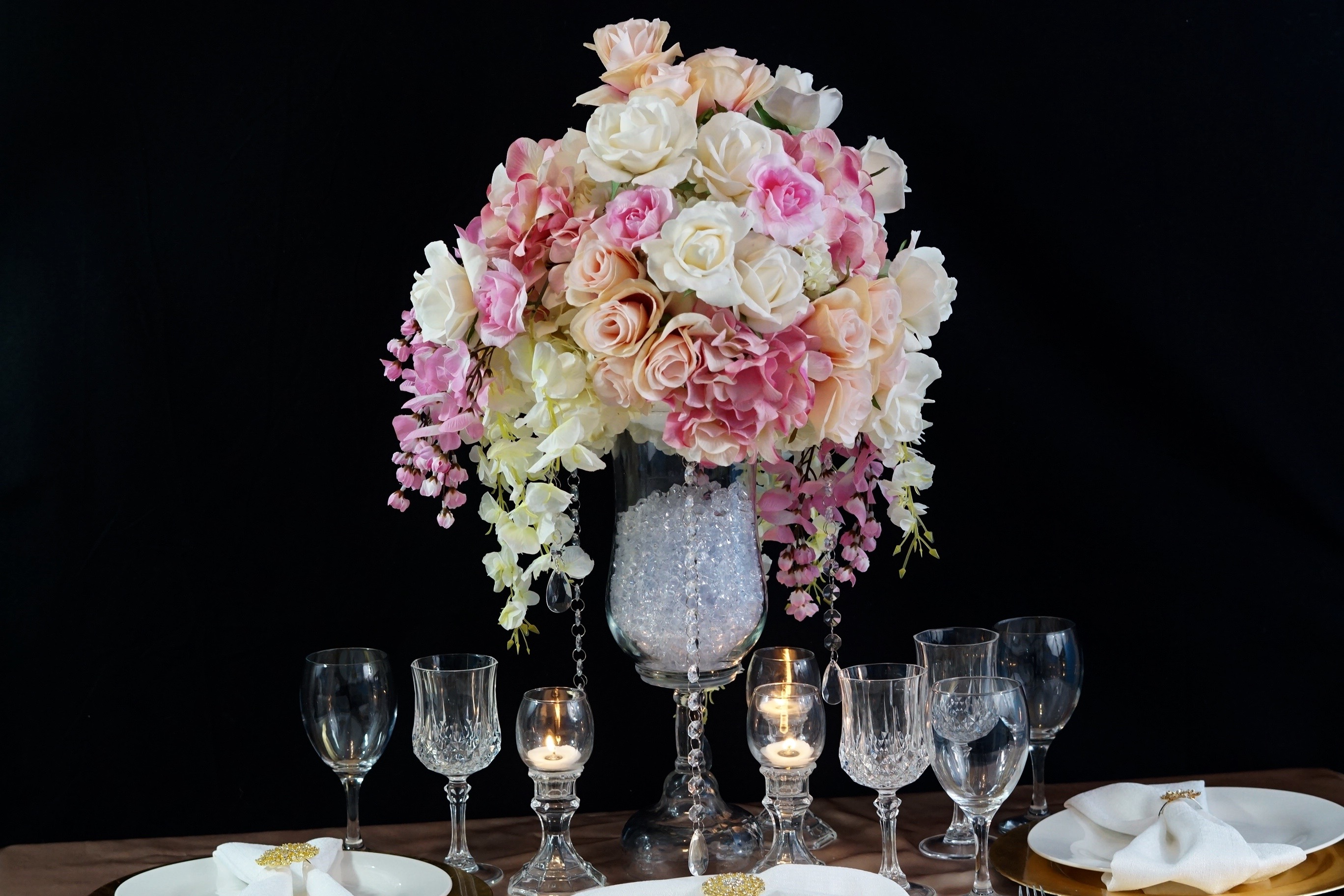 Ultimate wow factor diy glam wedding centerpiece this is the typical thing you will hear those who are from texas say myself included well although you may not be from texas solutioingenieria Gallery