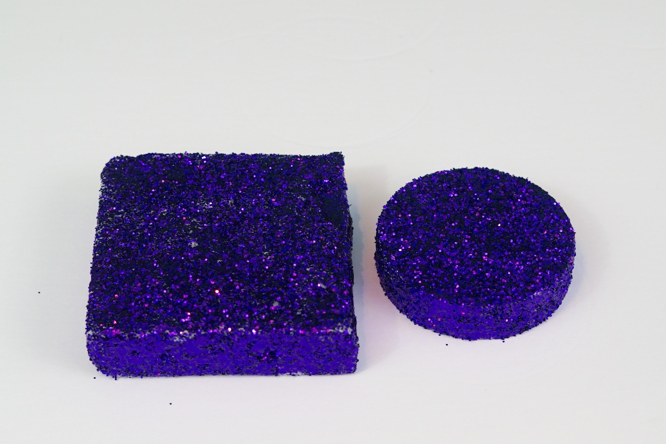 Purple Feather Centerpiece 6