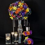 How to Make a Tall Fall Wedding Centerpiece with a $3 DIY Dollar Tree Wedding Vase