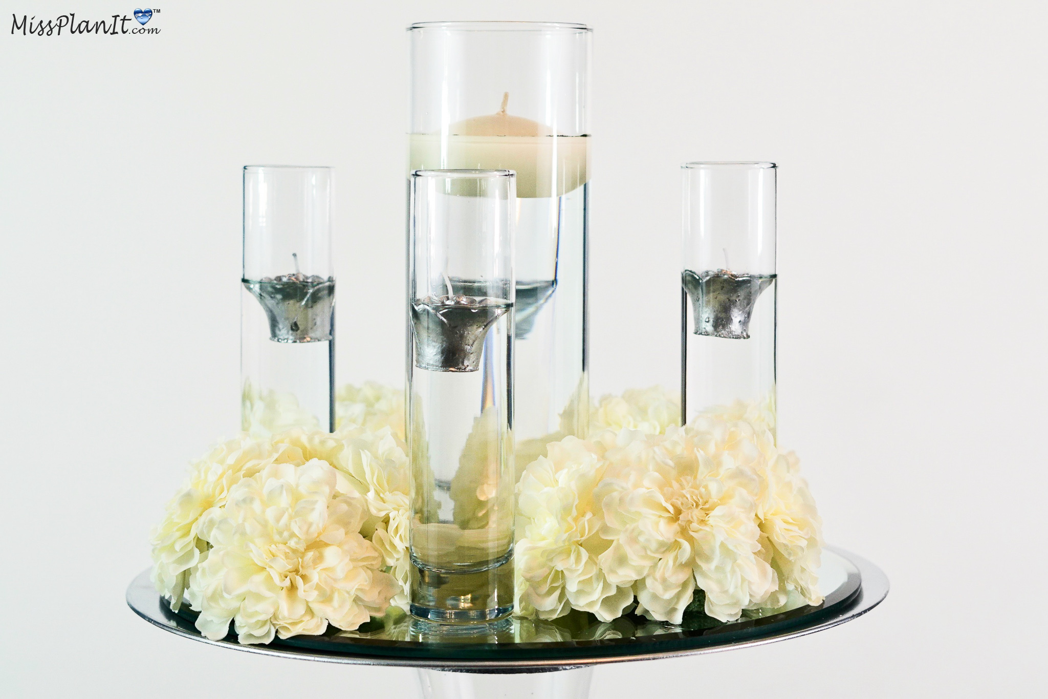 Gorgeous Diy Floating Candle Wedding Centerpieces