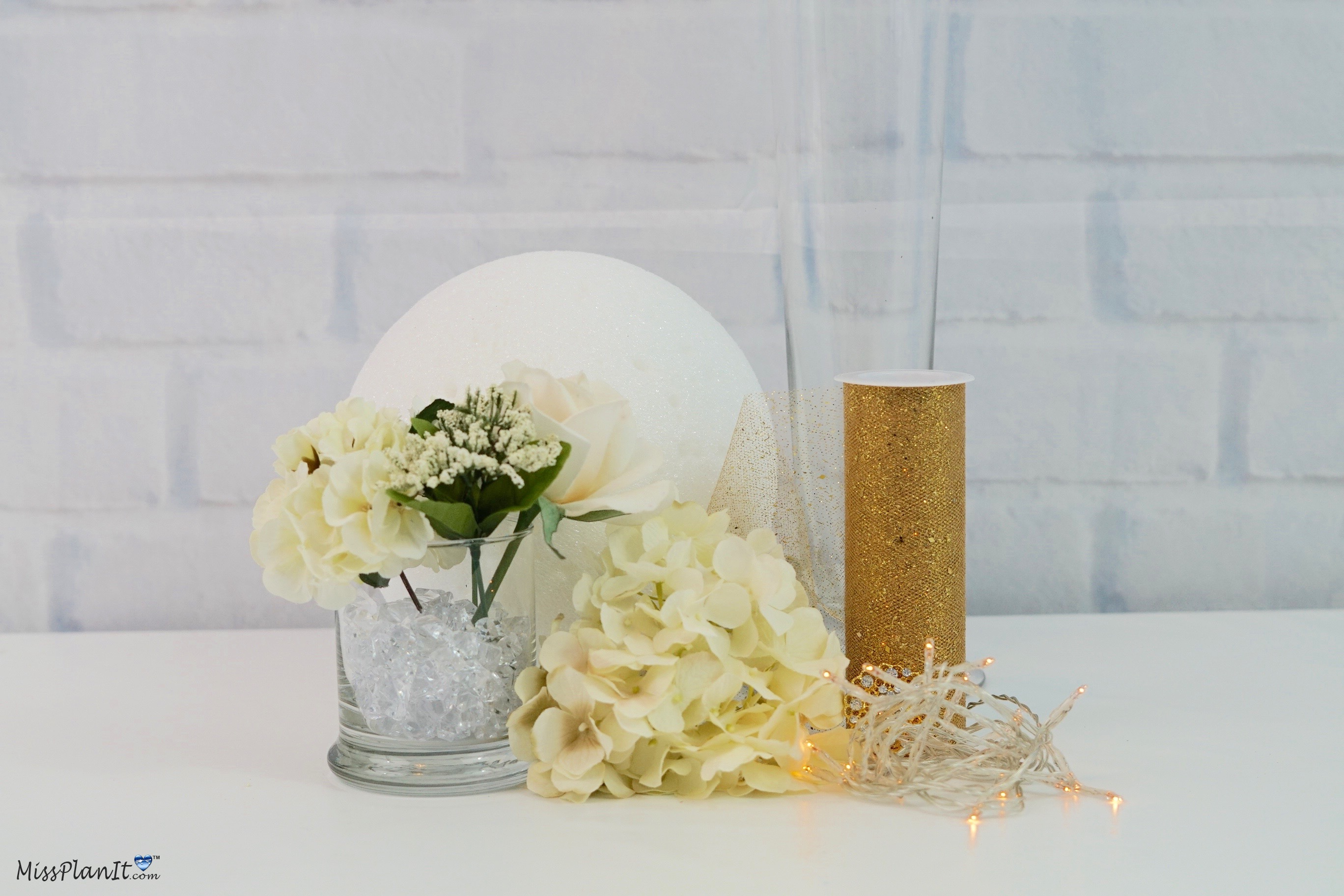 Floracraft Styrofoam Ball-6-inch