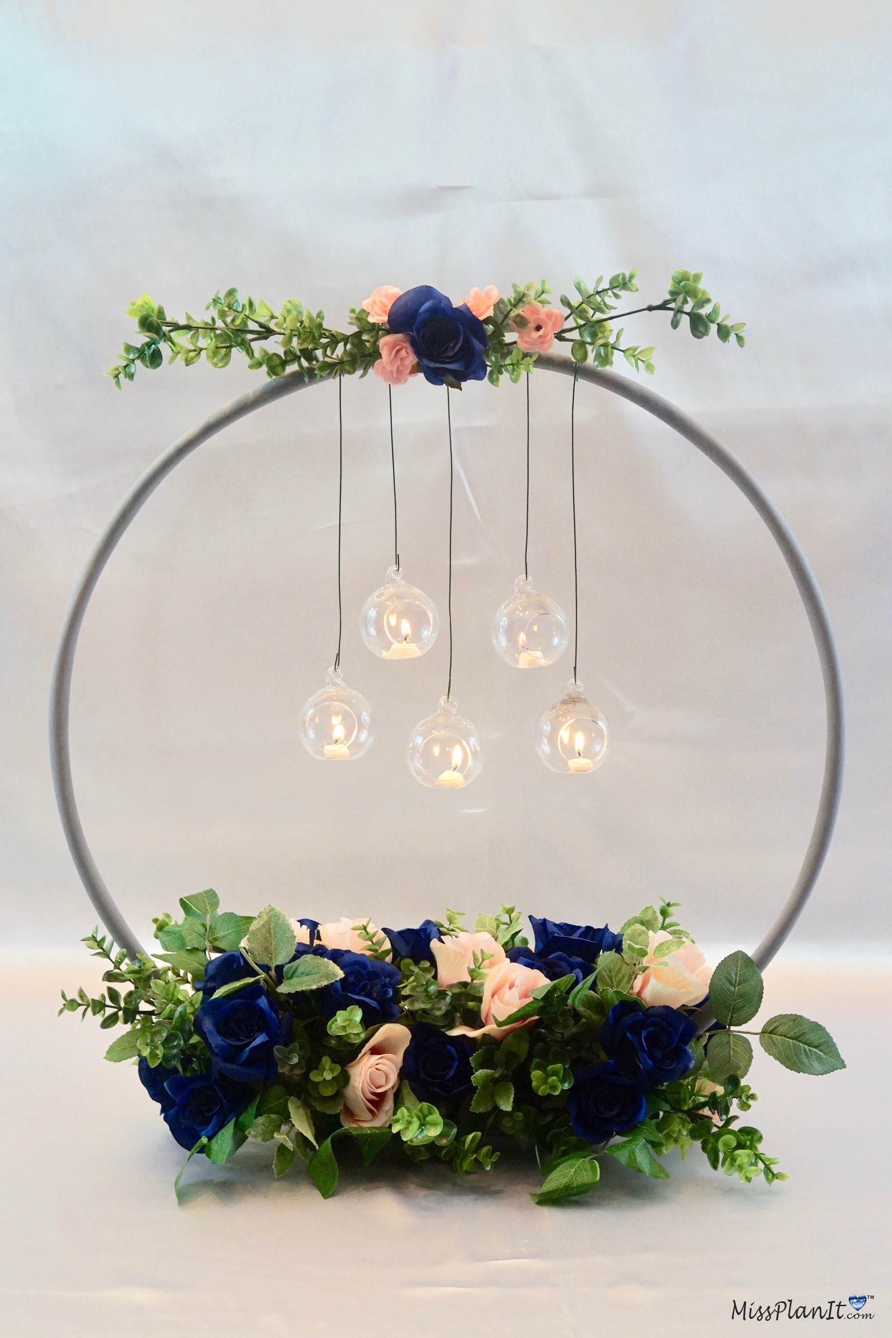Cool 1 Hula Hoop Wedding Hack How To Make A Chandelier Wedding Home Interior And Landscaping Transignezvosmurscom