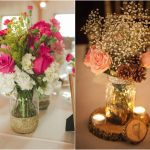 10 Beautiful Mason Jar Wedding Centerpieces on a Budget