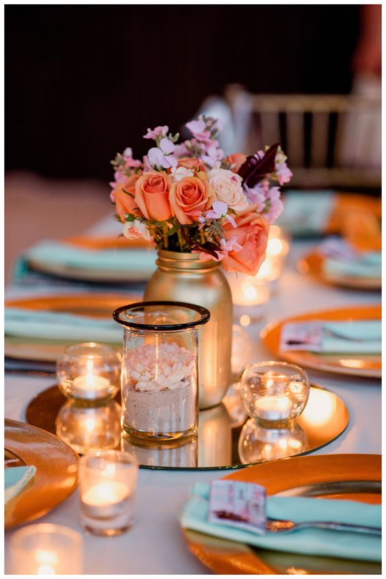 Fall Wedding Bouquets Pink