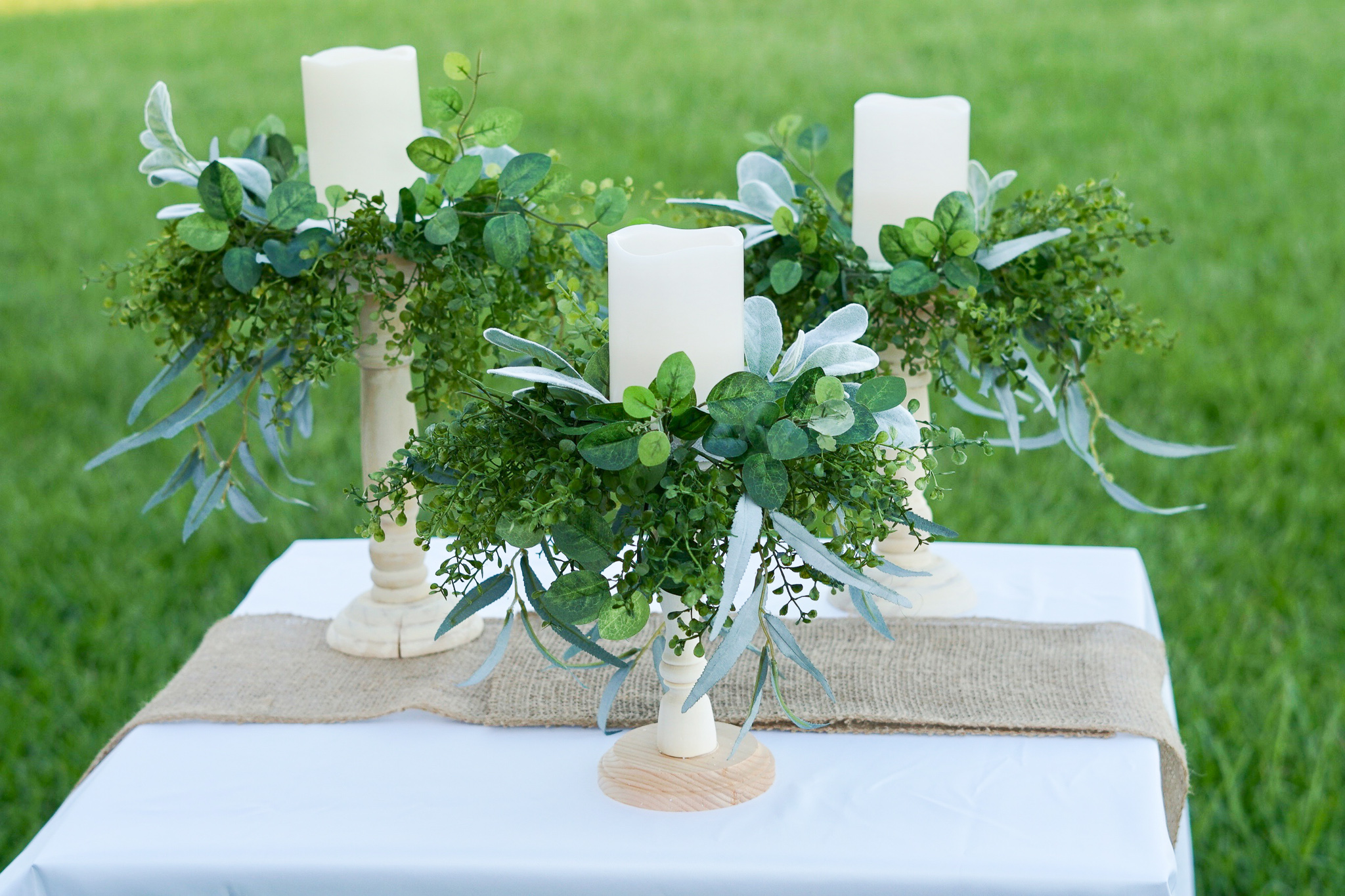 Groovy How To Make Diy Rustic Candle Holder Wedding Centerpieces Home Interior And Landscaping Transignezvosmurscom